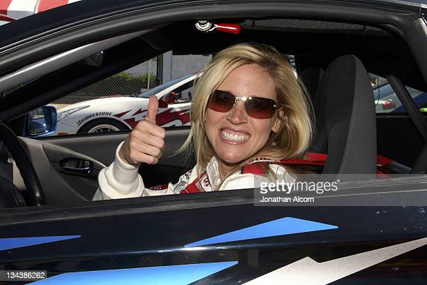 Paige Hemmis at practice preparing for the upcoming 2005 Toyota Pro/Celebrity Race at the Toyota Grand Prix of Long Beach California on March 29 2005...