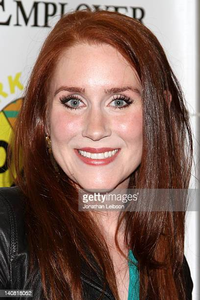 Paige Howard arrives to the The Employer Los Angeles Premiere at Regent Showcase Theatre on March 6 2012 in West Hollywood California