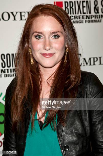Paige Howard attends The Employer Los Angeles Screening at Regent Showcase Theatre on March 6 2012 in West Hollywood California