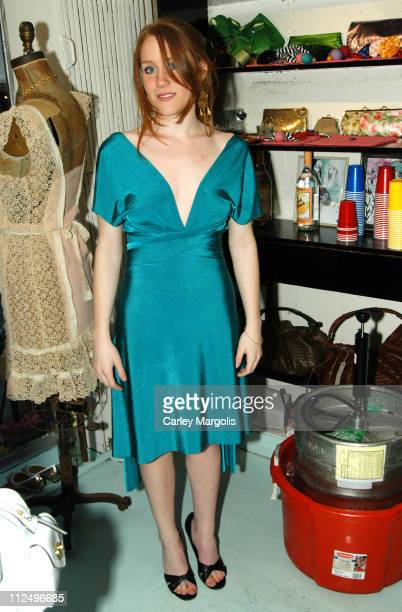 Paige Howard Ron Howard's daughter during Kyung Lee Celebrates the Openings of her Stores Claudine and Albertine at Claudine and Albertine in New...