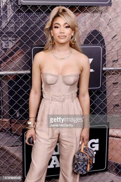 Paige Hurd attends 'Power Book III: Raising Kanan' global premiere event and screening at Hammerstein Ballroom on July 15, 2021 in New York City.