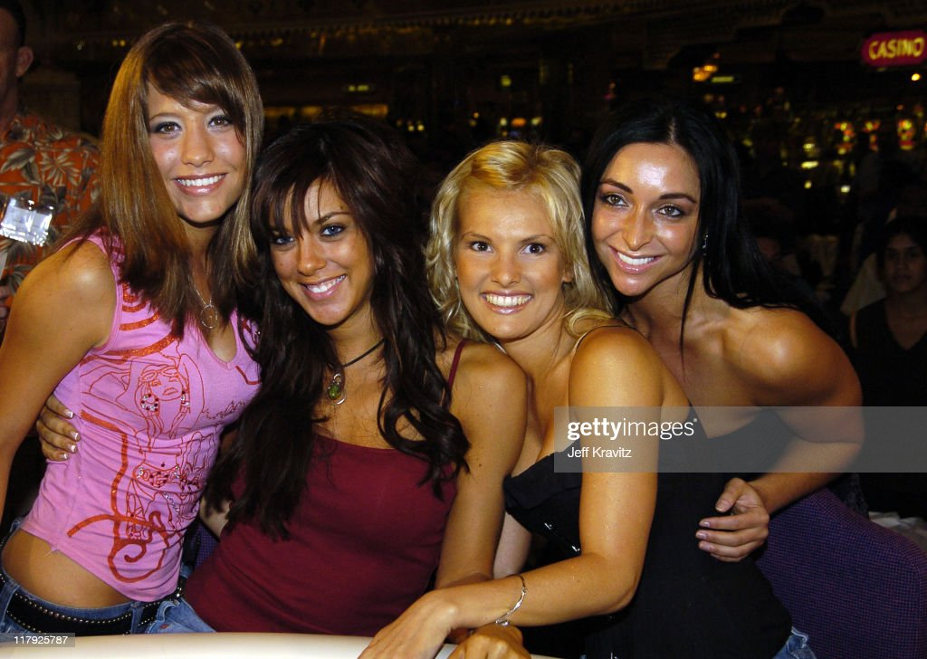 Reality Revue Blackjack Tournament - August 7, 2004 : News Photo