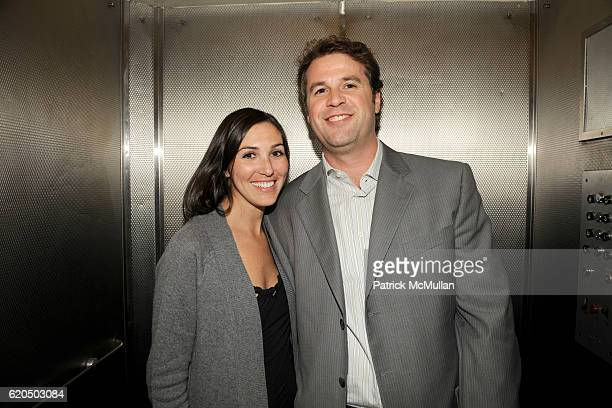 Paige Macaluso and Luke von Schreiber attend Cocktail party to celebrate the opening of THE DUTCH TOUCH ART COMPANY EXHIBITION at JOE NYE on...