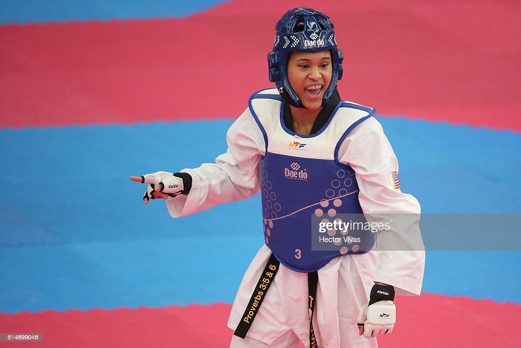 Taekwondo PANAM Qualification Tournament for Rio 2016 Olympic Games : News Photo