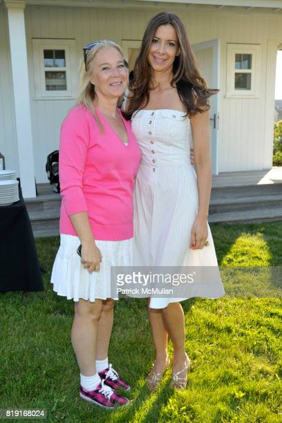 Paige Pedersen and Dianne Vavra attend THE CINEMA SOCIETY DIOR BEAUTY host a screening of GREASE SingALong at Katie Lee's Beach House on July 2 2010...