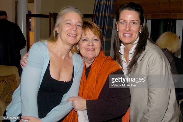 Paige Pedersen Jacqui Farina and Caroline Dougherty attend MICHAEL S SMITH AGRARIA COLLECTION LAUNCH at Lowell Hotel on April 18 2007