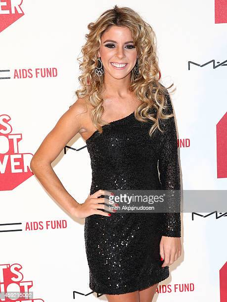 Paige Rawl attends the premiere of 'It's Not Over' presented by MAC Cosmetics and MAC AIDS Fund at Quixote Studios on November 18 2014 in Los Angeles...