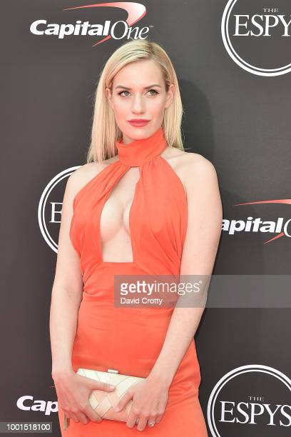 Paige Spiranac attends The 2018 ESPYS at Microsoft Theater on July 18 2018 in Los Angeles California