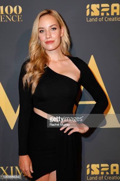 Paige Spiranac attends The 2018 Maxim Hot 100 Party at Hollywood Palladium on July 21 2018 in Los Angeles California