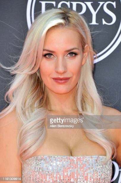 Paige Spiranac attends the 2019 ESPY Awards at Microsoft Theater on July 10 2019 in Los Angeles California
