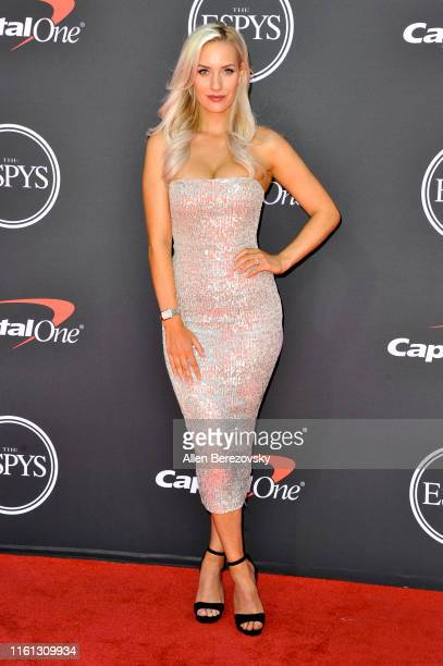 Paige Spiranac attends the 2019 ESPY Awards at Microsoft Theater on July 10, 2019 in Los Angeles, California.