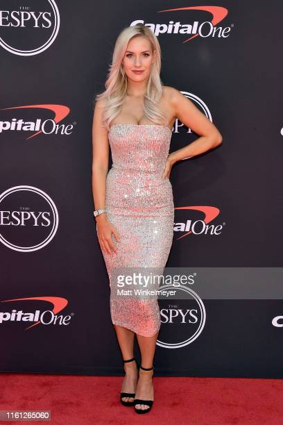 Paige Spiranac attends The 2019 ESPYs at Microsoft Theater on July 10, 2019 in Los Angeles, California.