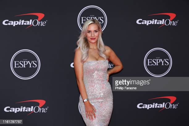 Paige Spiranac attends The 2019 ESPYs at Microsoft Theater on July 10 2019 in Los Angeles California