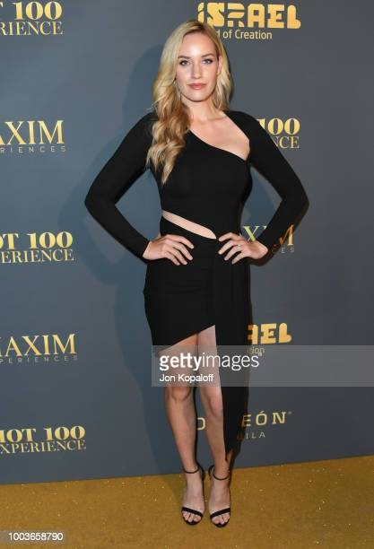 Paige Spiranac attends The Maxim Hot 100 Experience at Hollywood Palladium on July 21 2018 in Los Angeles California
