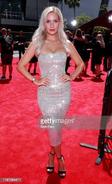 Paige Spiranic attends The 2019 ESPYs at Microsoft Theater on July 10 2019 in Los Angeles California