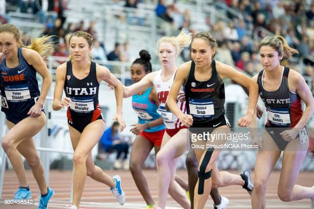 Paige Stoner of Syracuse University Grayson Murphy of the University of Utah Weini Kelati of the University of New Mexico Alicia Monson of the...