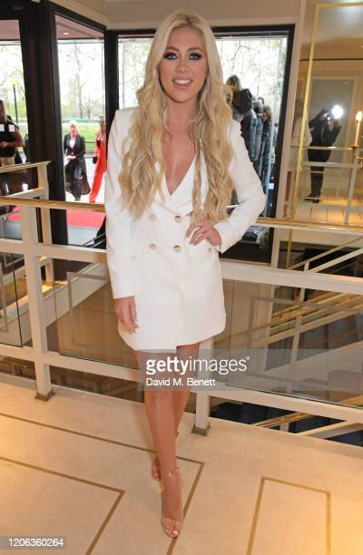 Paige Turley arrives at the TRIC Awards 2020 at The Grosvenor House Hotel on March 10 2020 in London England