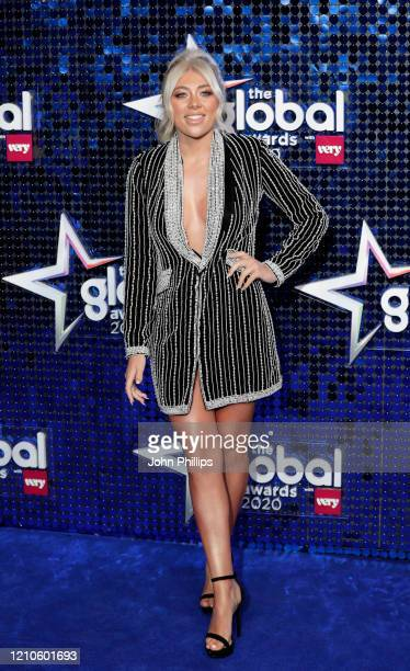 Paige Turley attends The Global Awards 2020 at Eventim Apollo Hammersmith on March 05 2020 in London England