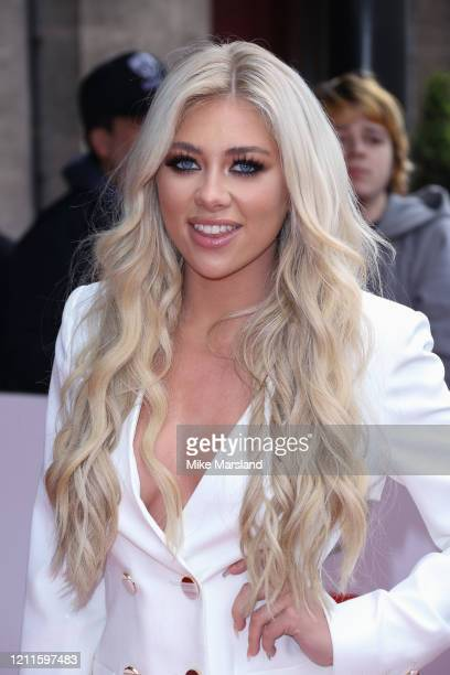 Paige Turley attends the TRIC Awards 2020 at The Grosvenor House Hotel on March 10 2020 in London England