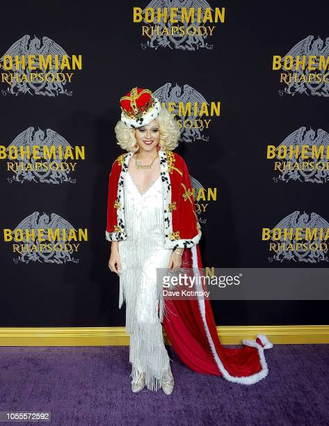 Paige Turner arrives at the red carpet at the premiere for Bohemian Rhapsody on October 28 at The Paris Theatre in New York City at The Paris Theatre...