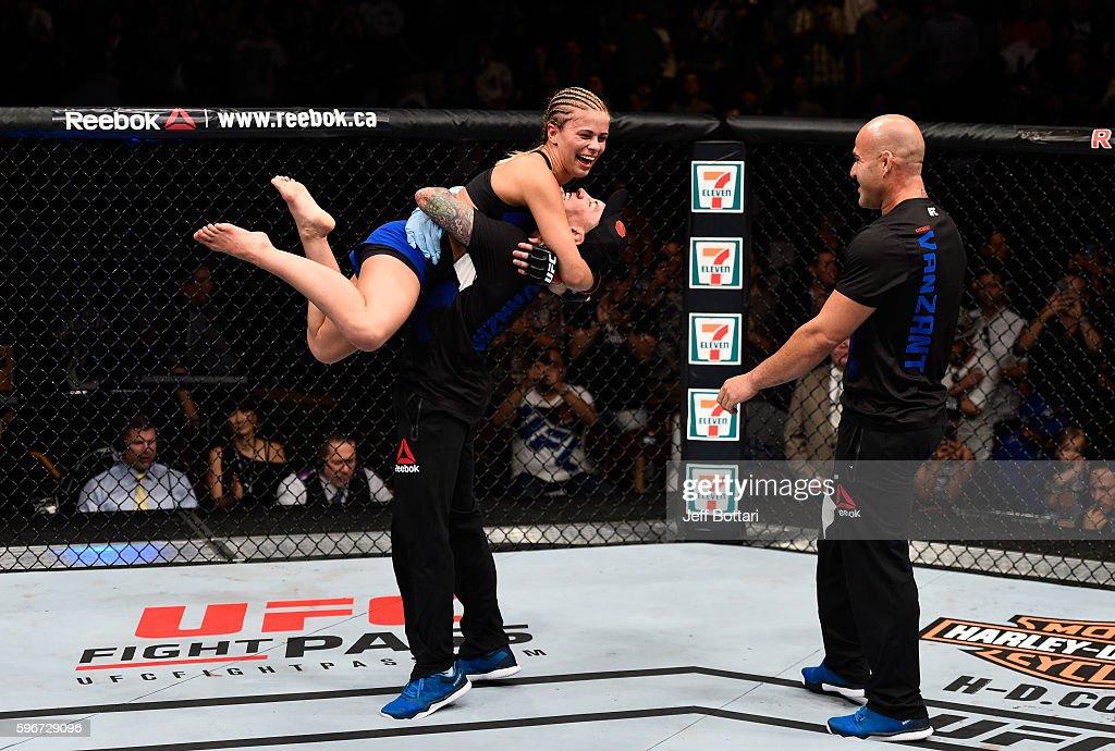 UFC Fight Night: VanZant v Rawlings : News Photo