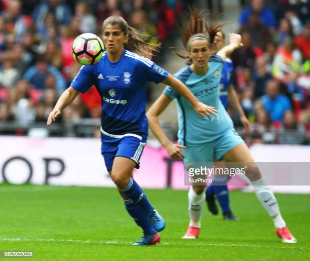 Paige Williams of Birmingham City LFC during The SSE FA Women's CupFinal match betweenBirmingham City Ladies v Manchester City women at Wembley...