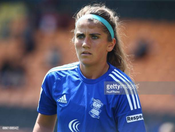 Paige Williams of Birmingham City LFC during Women's Super League 1 Spring Series match between Arsenal Ladies against Birmingham City Ladies at The...