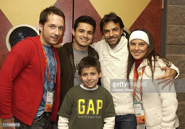 Pailo Heitz Jesse Garcia Adrian Alonso Eugenio Derbez and Kate Del Castillo