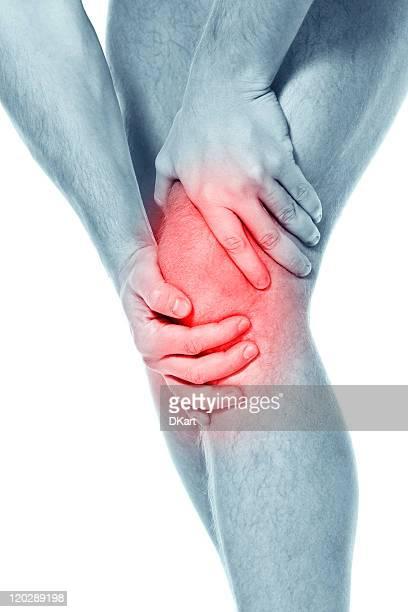 Schmerzen in einen knee. sports einem trauma