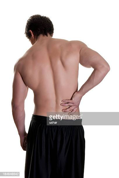 pain in lower back