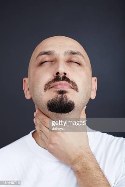 Pain in throat