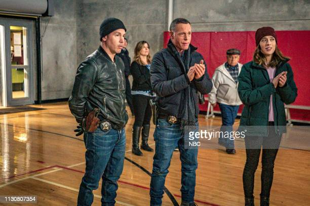 D Pain Killer Episode 617 Pictured Jon Seda as Antonio Dawson Jason Beghe as Hank Voight Marina Squerciati as Kim Burgess