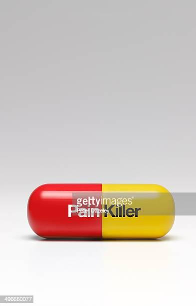 Pain killer/relief capsule