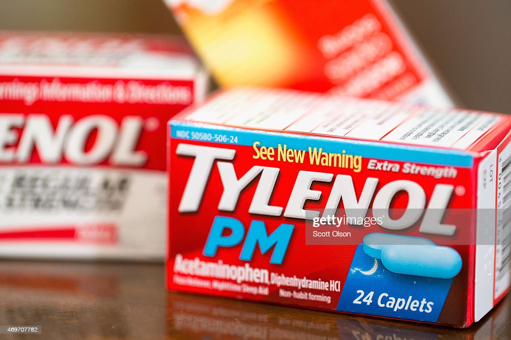 Pain medications, which contain acetaminophen, are shown on April 14, 2015 in Chicago, Illinois. New research has shown that acetaminophen, which is found in many over-the-counter painkillers, can dull feelings of pleasure. Previous research found that the medication had a similar effect with feelings of dread.