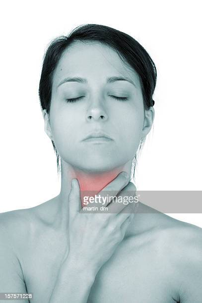 pain - throat photos stock photos and pictures