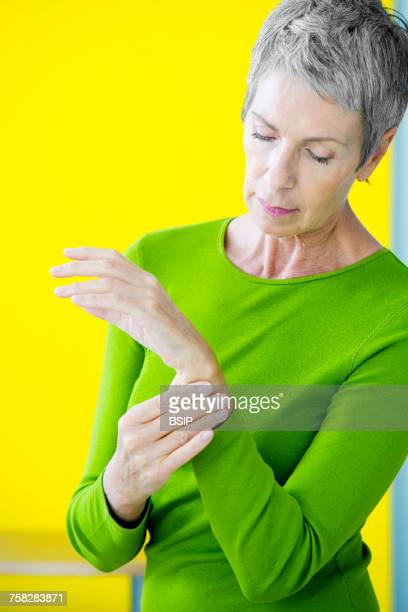 Painful wrist in an elderly p.