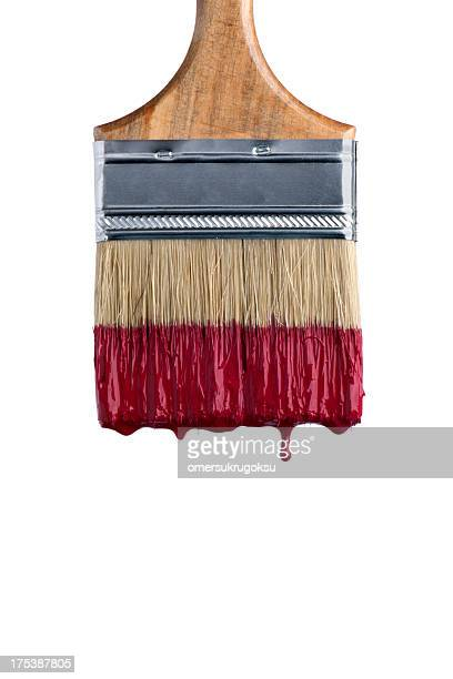 paint brush - paintbrush stock pictures, royalty-free photos & images