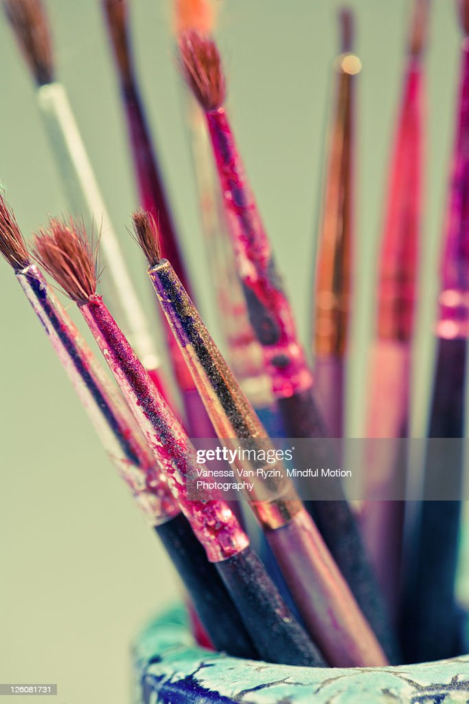 Paint brushes : Stock Photo