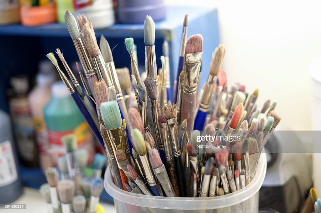Paint Brushes : Stock Photo