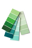 Paint: Colour Samples Green
