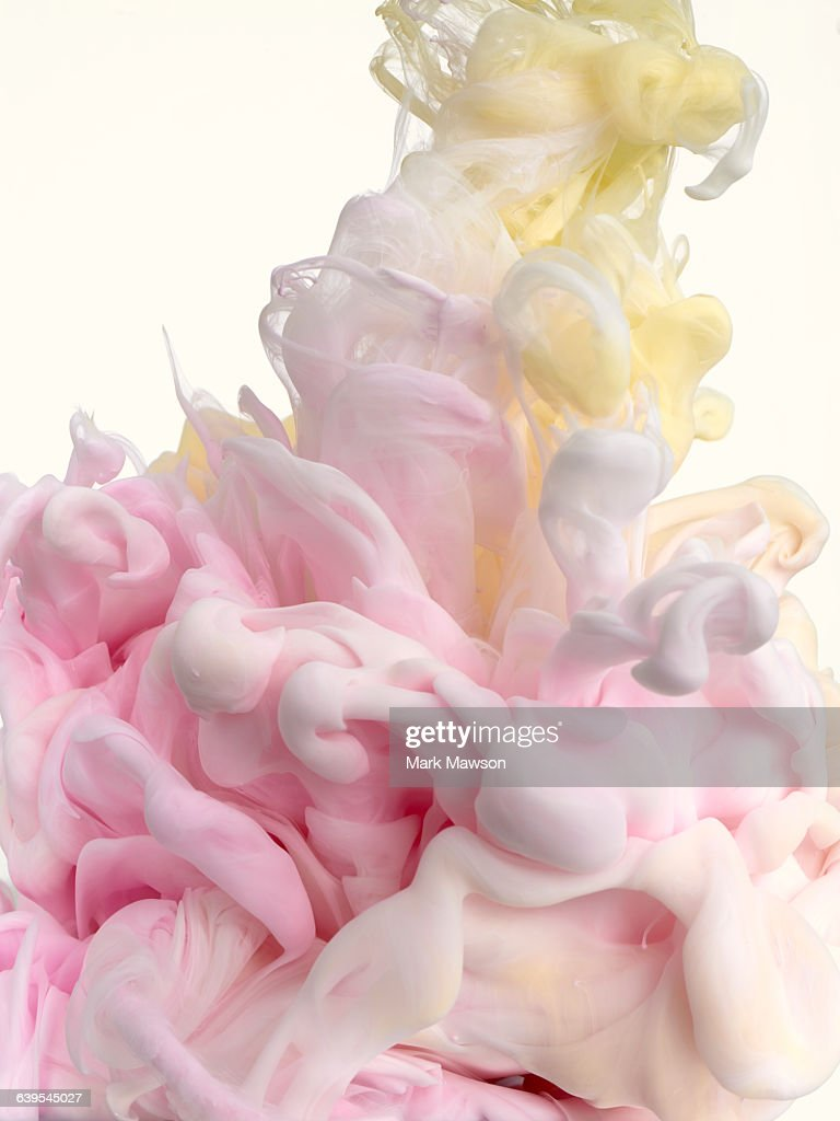 paint in water : Stock Photo