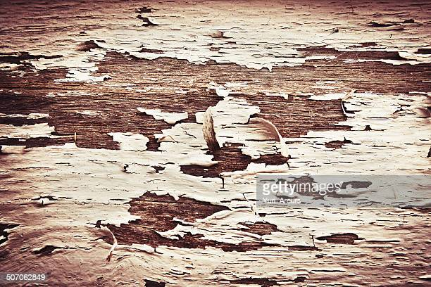 Paint peeling off a wooden wall - Wallpapers