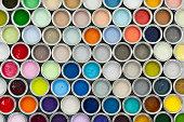Paint pot samples
