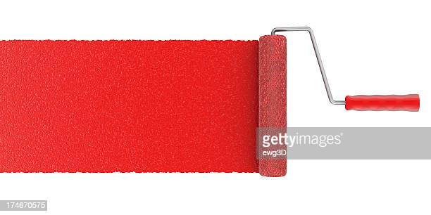 paint roller - paint roller stock pictures, royalty-free photos & images