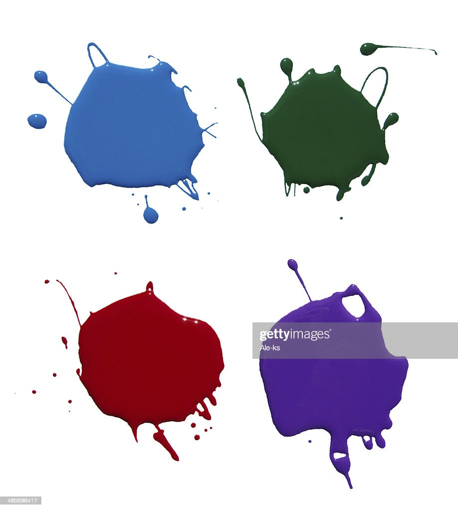 paint splash : Stock Photo