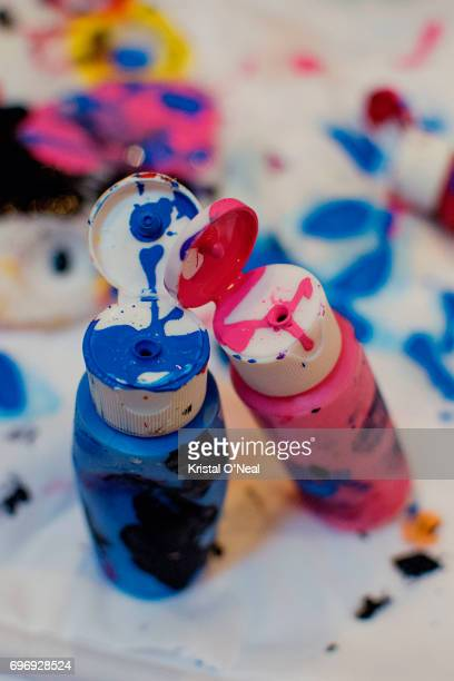 paint splash - gender stereotypes stock pictures, royalty-free photos & images