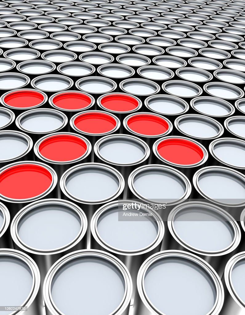 Paint tins, abstract : Stock Photo