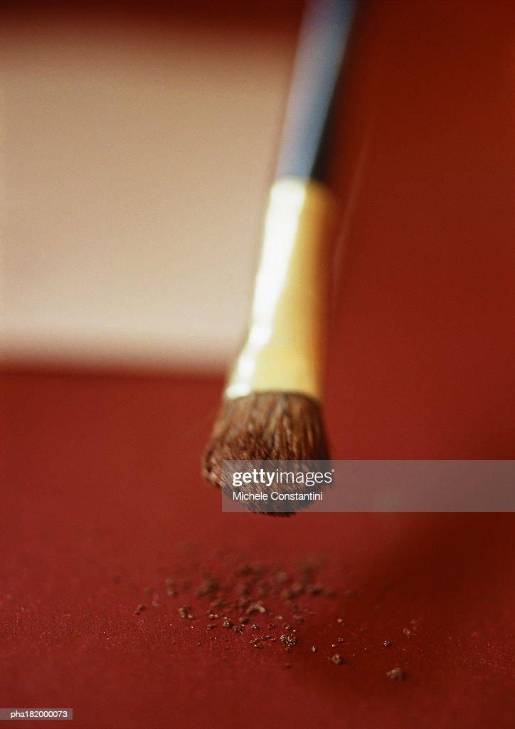 Paintbrush, close-up : Stock Photo