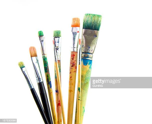 Paintbrushes used