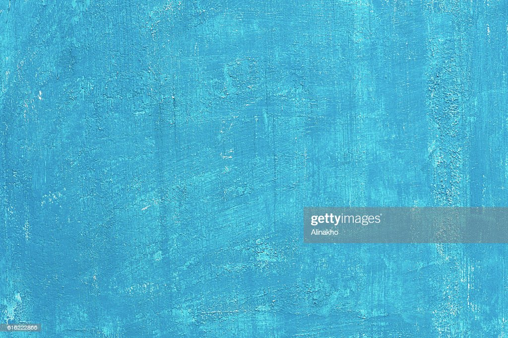 Painted blue aged background : Stock Photo